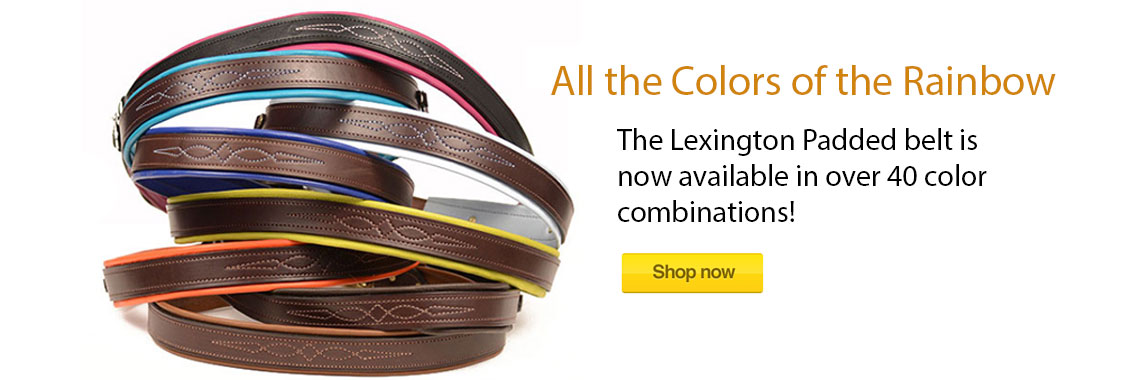 Lexington Padded Belt