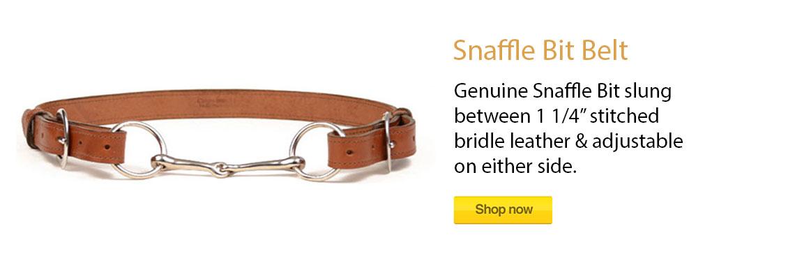 Snaffle Bit Belt