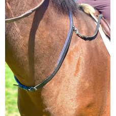Padded Neck Strap with Saddle Attachment with Nameplate